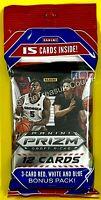 2020-21 Panini Prizm Draft Picks  Basketball Cello Pack Fat Hanger QTY Discount
