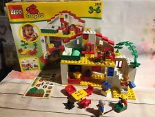Lego Duplo 2818 Vintage Family House Playset, Very Rare Boxed, Unused Stickers