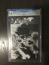 DETECTIVE COMICS # 10 SKETCH / The new 52! / CGC Universal 9.8 / August 2012