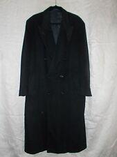 Men's LORO PIANA CASHMERE NEIMAN MARCUS Collection Coat Size 42R Regular  Black