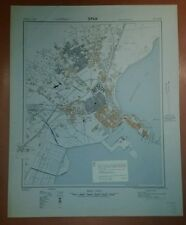 1943 US Army City Plans Tunisia Sfax and Tunis  GSGS 4272