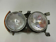 MERCEDES BENZ  450 SLC  350SL 560SL  R107 ,  R. SIDE HEADLIGHT NO TRIM , OEM.