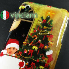 Custodia cover NATALE iPhone 3GS / 3G BABY NATALE