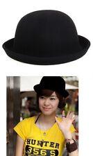LANA NERO WOMANS Derby Hat CAP VINTAGE Bowler Cappelli Cappelli Cloche HEAD WEAR