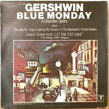 GERSHWIN: Blue Monday (Chamber Opera) & others-NM1976LP Gregg Smith Singers