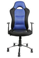 Chaise de bureau bleue pour la maison