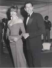 Geena Davis and her Husband Jeff Dated: 3/26/90 & captioned back 7x9