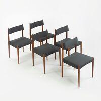 Set of 5 Knud Faerch Bovenkamp Dining Chairs Netherlands New Upholstery Danish