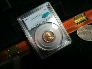 1942 PROOF LINCOLN PENNY PCGS & CAC PR-65RD   CLEAN & LUSTER FILLED RED SURFACES