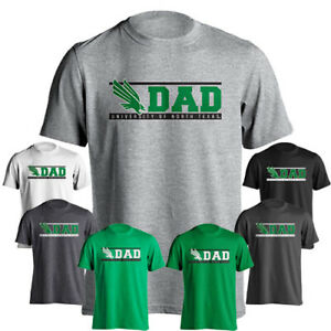 University of North Texas UNT Mean Green Dad Logo Father Short Sleeve T-Shirt