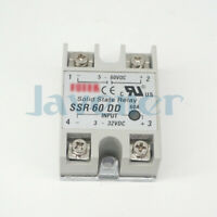 SSR-60DD 60A 3-32VDC Input 5-60VDC Output Solid State Relay Module DC to DC