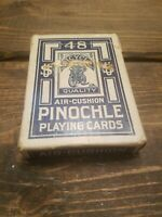 Vintage Bicycle Pinochle Playing Cards Rider Back US Playing Card Co Complete