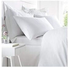West Park Hotel White Deep Fitted Sheet 200TC 100% COTTON New & Sealed