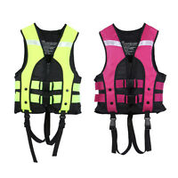Kinder Polyester Leben Einsparung Jacken Weste Gilet für Wasser SPORTS Schwimmen