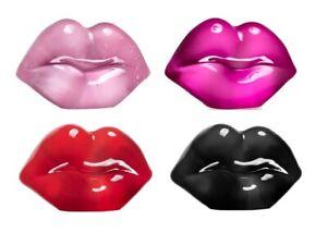 Kosta Boda Make Up Hot Lips Sculpture