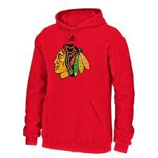 Chicago Blackhawks Adidas NHL Primary Logo Fleece Hoodie Sweatshirt Adult Large