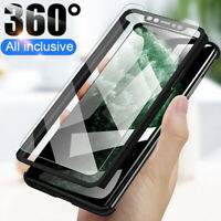 360° Full Cover Case For iPhone 11 Pro XS Max X XR 8 7 6 Plus + Tempered Glass