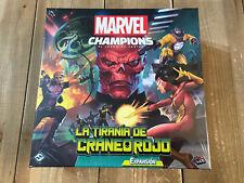 Marvel Champions - La Tirania de Craneo Rojo - LCG - FFG - Edición Español