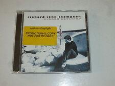 RICHARD JOHN THOMPSON - Hidden Daylights - 12-track UK CD LP