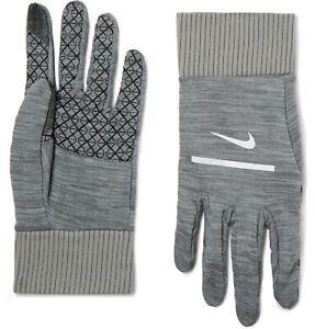NIKE MEN'S Sphere 2.0 Dri-FIT Gloves Running Dri Fit Gray XL