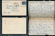 FRANCE 1932 MOURNING LETTERCARD + COLONIAL EXPO 1F50 FRANKING to AUSTRIA NELS
