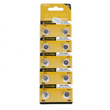 10PCS AG3 LR41 392 SR41 192 1.5V Alkaline Button Coin Cells Watch Battery Sturdy