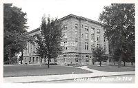 Iowa Ia Real Photo RPPC Postcard c1950 BOONE County Court House Building 2
