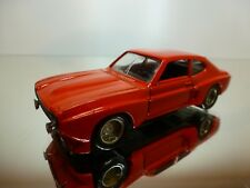 VEREM 26 FORD CAPRI 2600 RV - RED 1:43 - GOOD CONDITION