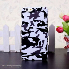 Shockproof Camo Camouflage Slim Hard Back Cover Case For Apple iPhone 5 6s Plus