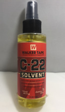 C-22 SOLVENT WALKER TAPE   CLEANER FOR HAIR SYSTEMS TAPES & BONDS RINSES OFF