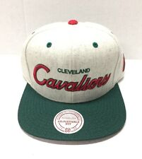 MITCHELL & NESS BRUSHED HEATHER WOOL SNAP-BACK CLEVELAND CAVALIERS