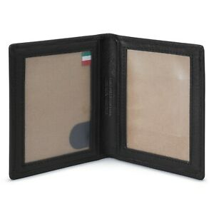 Luxury Italian Leather Double Photo Frame - rrp £45.00