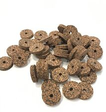 Cork Rings, 4 Dark Spotted, 1 1/4� x 1/4� x 1/4� Hole