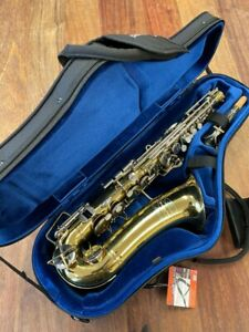 Pre-Owned BUESCHER ARISTOCRAT Alto Saxophone #453012 Repadded PERFECT Ships FREE