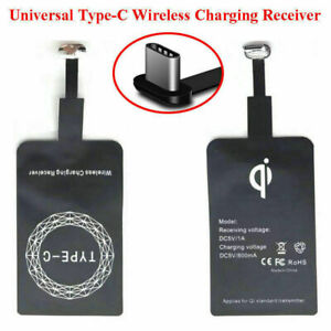 QI Wireless Charger Receiver For Samsung Huawei Android Type-C Micro USB