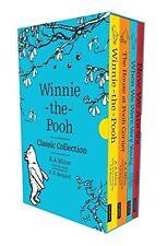 Winnie-the-Pooh Classic 4 Books Slipcase Edition (Character Classics) New