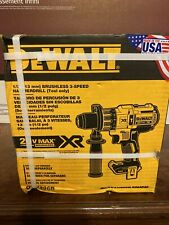 New DeWALT DCD996B 20-Volt Li-Ion Brushless Hammer Drill-Driver - Bare Tool