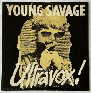 "Ultravox Young Savage PS UK 7"""