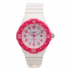 CASIO LRW-200H-4B WHITE / PINK WATCH FOR WOMEN - COD + FREE SHIPPING