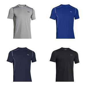 Under Armour Men's HeatGear Raid 4-Way Stretch Short Sleeve Fitted Gym T-Shirt