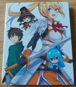 Konosuba Vol.2 (Dvd) (Mediabook) DVD NEW
