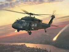 Returning Fire [UH-60 Black Hawk Helicopter] PRINT William S Phillips 101st A.B.