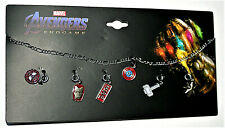 Marvel Comics Avengers Infinity War Thanos Stones Pendant Charm Necklace New MOC
