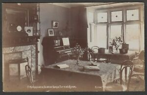 Postcard Woking nr Guildford the St Katherine's School sitting room RP by Elton