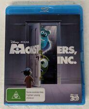 MONSTERS INC. 3D Blu-ray Region A B C oz seller Disney Pixar