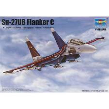 NEW Trumpeter 1/144 SU-27UB Flanker C Russian Fighter 3916