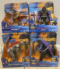 Monsterverse Godzilla Vs Kong Set Of 4
