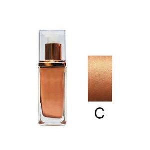 Deep Dark Glowing Face Body Liquid Highlighter Illuminator Makeup Shimmer