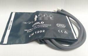 GE critikon NIBP cuff with connectors Pediatric Double  Compatible CM1202 Nylon