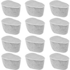 Charcoal Water Filters for Krups Coffeemakers, Set of 12 (F4720057)